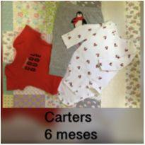 Conjunto Carters pinguim - 6 meses - Carter`s