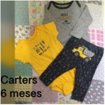 Conjunto Carters construtor - 6 meses - Carter`s