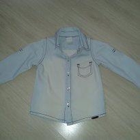 Camisa jeans - 1 ano - Alakazoo!