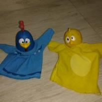 Fantoches galinha pintadinha e pintinho amarelinho -  - algazarra
