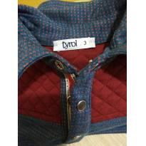 Camiseta Polo - 3 anos - Tyrol