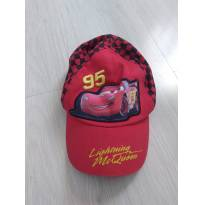 Boné Carros McQueen - 2 anos - Disney