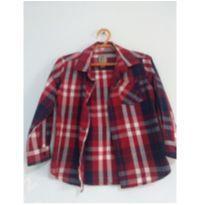 Camisa Xadrex tamanho 3 - 3 anos - Baby Club