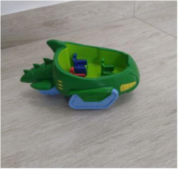 Carro Lagartixo Herois De Pijama Pj Masks - Só o carrinho sem o personagem! - Sem faixa etaria - DTC