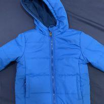 Jaqueta puffer azul  - NUNCA USADO - 3 anos - riachueulo