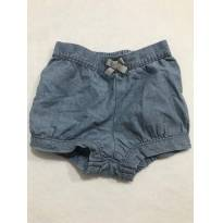 Short Jeans Carters - 9 meses - 9 meses - Carter`s