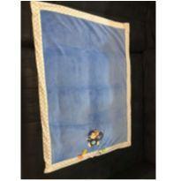 Cobertor Azul Macaquinho para Bebes -  - Taggies