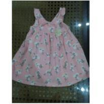 Vestido Milon Rosa - 9 a 12 meses - Milon