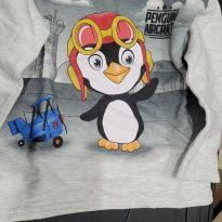 Moletom de Pinguim - 3 anos - Kyly