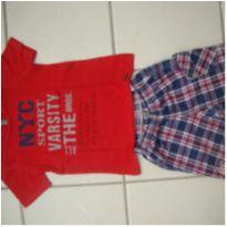 Conjunto camisa e shorts - Menino - 3 anos - 3 anos - Trm Bros