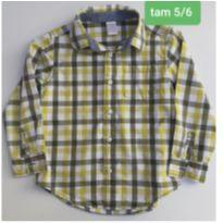 Camisa Gymboree - 5 anos - Gymboree