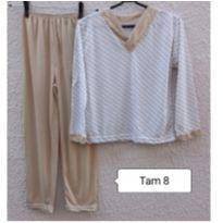 Pijama de menino Tam 8 - 8 anos - Sem marca