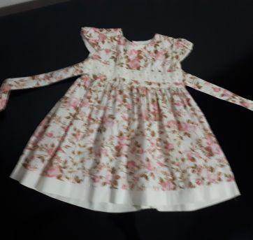 Lindo Vestido de Festa - 1 ano - Aquarela