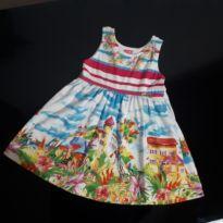 Vestido Floral - 3 anos - KAMYLUS