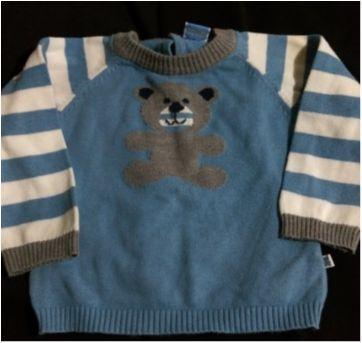 Cardigã fofinho - 6 a 9 meses - Teddy Boom