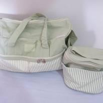 Kit com bolsa e frasqueira Natura -  - Natura