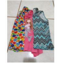 Kit com 3 lindas blusinhas em malha - 6 anos - Boulevard Kids e nanny
