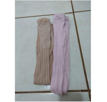 Kit com 2 meias calças - 6 anos - Selene