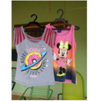 Kit com 2 blusas fofas - 8 anos - Disney e Pernambucanas