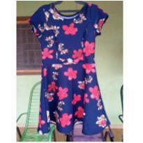 Vestidinho florido - 6 anos - Não informada
