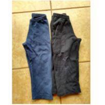 Kit com 2 calças em moletom - 3 anos - Rolú e Bradili