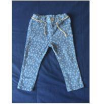 Calça veludo stretch - 12 a 18 meses - Zara Baby