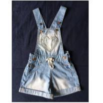 Jardineira jeans - 12 a 18 meses - Kids Denim Girls