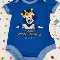 Body curto Mickey - 0 a 3 meses - Disney