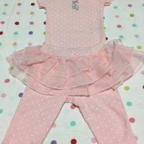 Conjunto bailarina rosa bebê Carter´s - Recém Nascido - Carter`s