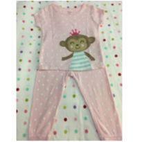 Pijama Macaquinha Carter´s - 18 meses - Carter`s