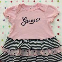 Vestido Rosa Guess - 1 ano - Guess