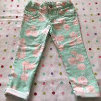 Calça jeans estampada Carter´s - 3 anos - Carter`s
