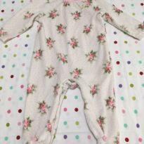 Macacão florzinhas Juicy Couture - 3 meses - Juicy Couture