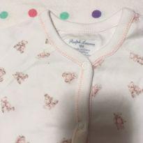 Macacão Ursinhos Ralph Lauren - 9 meses - Ralph Lauren