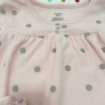 Pijama-Camisola Quentinho Fleece Carter´s - 2 anos - Carter`s
