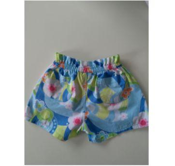 Shorts estampado - 4 anos - Gymboree