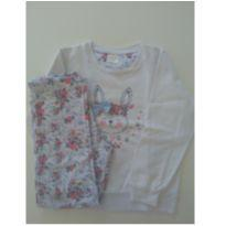 Pijama de flanela - 6 anos - Não informada