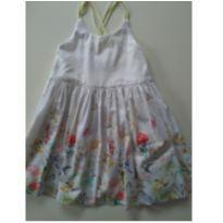 Vestido com estampa de flores - 7 anos - Zara