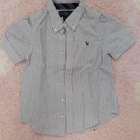 Camisa de botão - 3 anos - Ralph Lauren