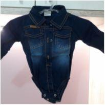 Body jeans - 3 meses - Outras