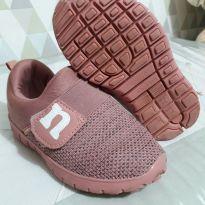 Tênis rosa - 25 - Novopé