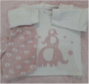 Pijama elefantes - 3 anos - Dedeka