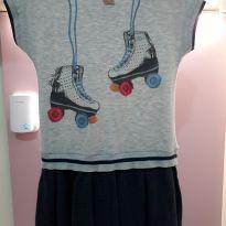 Vestido Patins - 4 anos - Lilica Ripilica