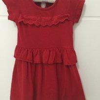 Vestido importado Young Dimension para meninas de 01 ano - 12 a 18 meses - Young dimension