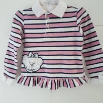 Camisa manga longa Lilica Ripilica para princesas de 02 à 03 anos - 2 anos - Lilica Ripilica