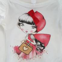 Camisa manga longa para princesas de 03 anos - 3 anos - Não informada