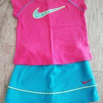 Conjunto Nike camiseta e saia short - 03 anos - 3 anos - Nike