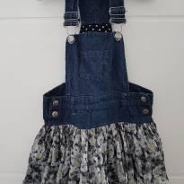 Jardineira com saia tutu para princesas de 03 anos - 3 anos - Importada
