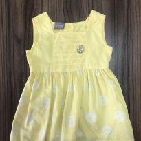 Vestido Amarelo - 3 meses - Mundi