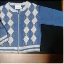 Casaco de lã estiloso com zíper - 6 meses - Noruega Baby